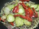 Spaghettis.poivron.courgette. bœuf. photos. Img_6857