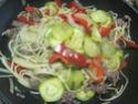 Spaghettis.poivron.courgette. bœuf. photos. Img_6858