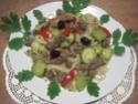 Spaghettis.poivron.courgette. bœuf. photos. Img_6860