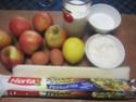 Tourte aux pommes crème pâtissière.photos. Img_6868