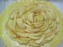Tourte aux pommes crème pâtissière.photos. Img_6922