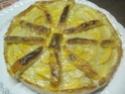 tarte aux pommes sur une crème d'amande.photos. Tarte_26