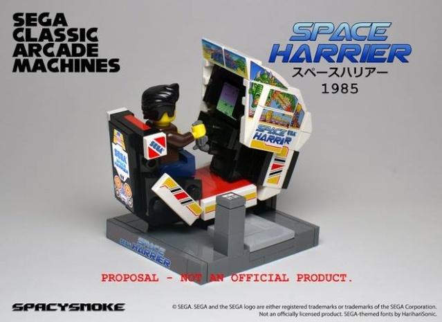 Bornes d'arcade Sega by Lego  Spaceh10