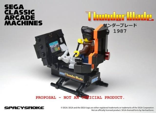 Bornes d'arcade Sega by Lego  Thunde10
