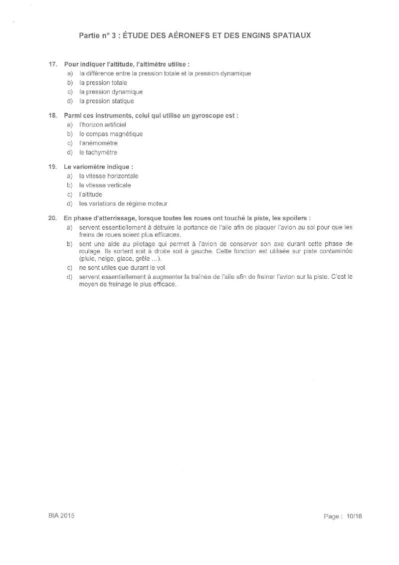 Sujet + Corrigé BIA 2015 Bia_2025