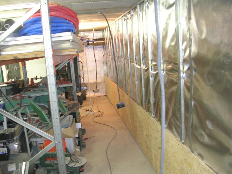 Isolation futur atelier 01210