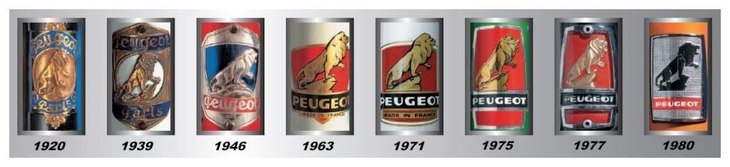 peugeot p10 de 1975 Logo_c10