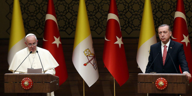 Recep Erdogan et le Pape, une rencontre d'une «authentique rareté». Web3-p10