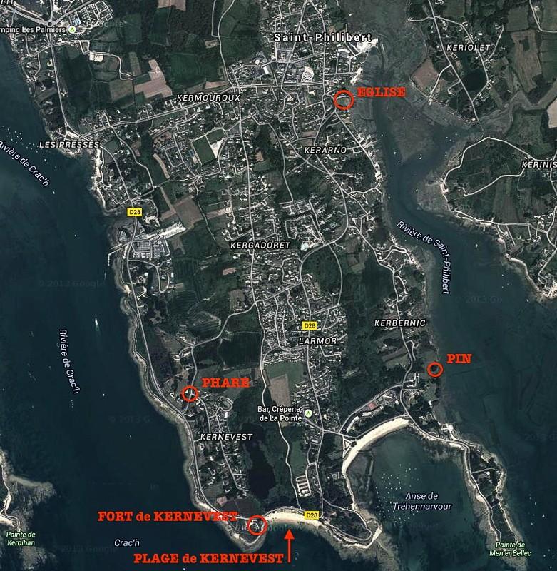 Saint Philibert - plage de Kernevest Stphil22