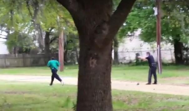 Noir tué par un policier blanc Police10