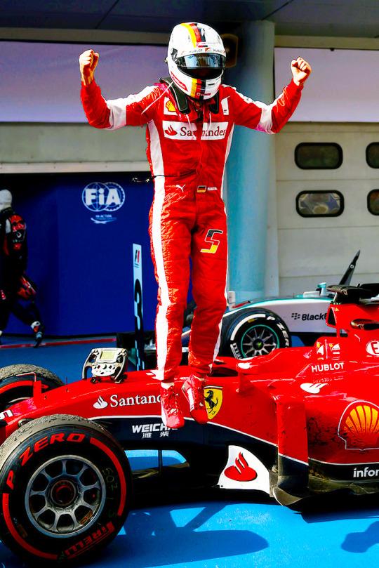 Grand Prix de MALAISIE 2015 - 02/19 Vettel12