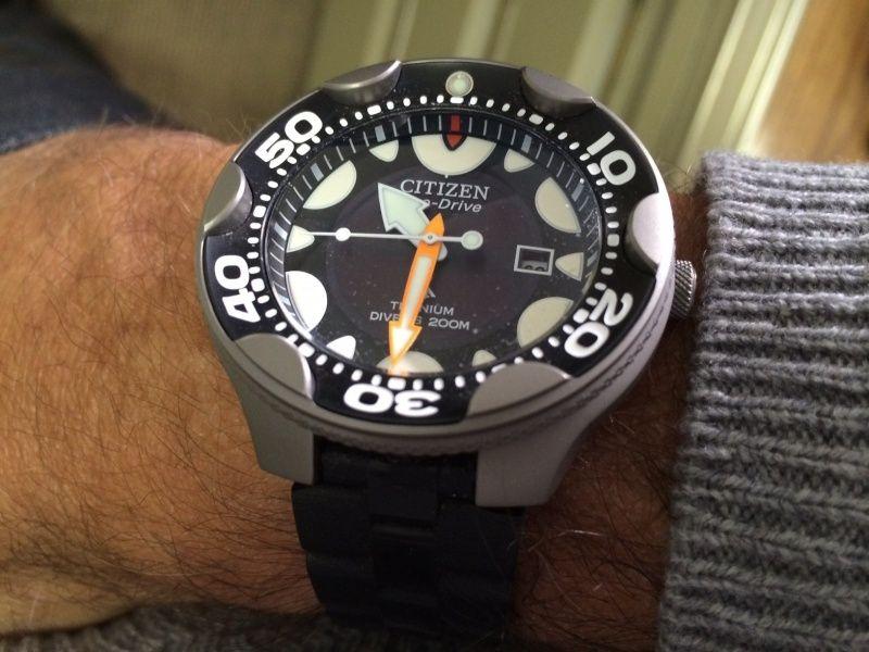 La montre du vendredi, le TGIF watch! - Page 5 Orca210