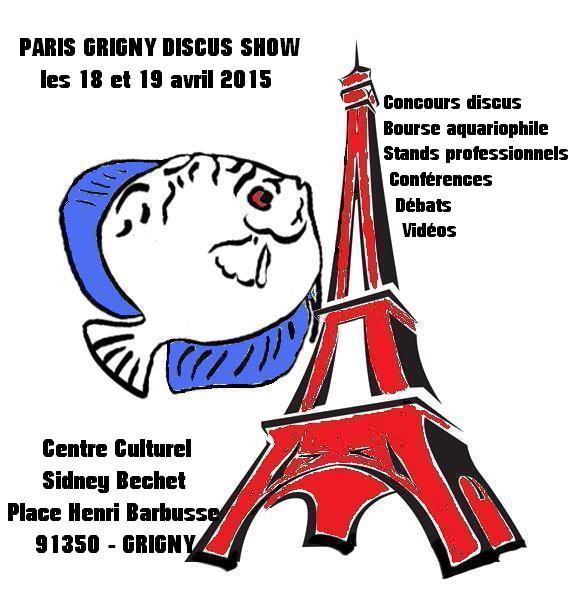 Paris Grigny Discus Show Affich10