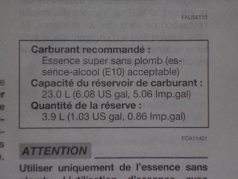 essence 95 E ou 98 Dscn2012