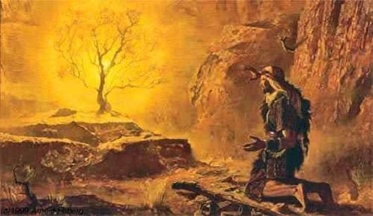 Dieu est Lumière Moise-10