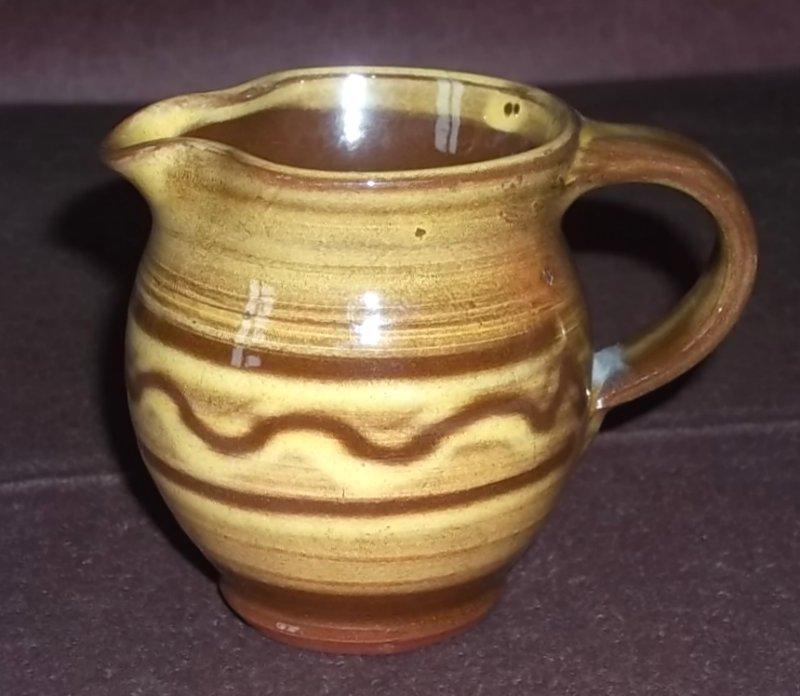 Slipware jug - wg mark (not Matt Grimmit) - W. Goodman, Totnes 100_2212
