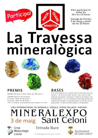 MINERALEXPO SANT CELONI 2015 Poster10