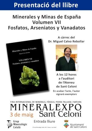 MINERALEXPO SANT CELONI 2015 Poster11