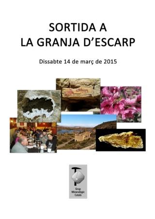 RESSENYA sortida dissabte 14-03-15 La Granja d'Escarp. Sortid10
