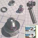Chainette du moyeu : la fixer au câble Brompt10