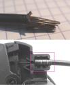 Chainette du moyeu : la fixer au câble Brompt11