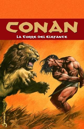 Portadas de las colecciones diversas de Conan Sword100