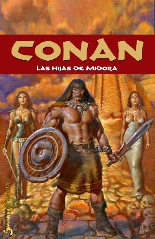 Portadas de las colecciones diversas de Conan Sword101