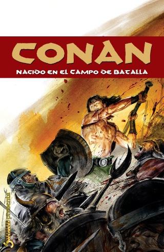 Portadas de las colecciones diversas de Conan Sword105