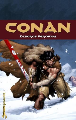 Portadas de las colecciones diversas de Conan Sword106