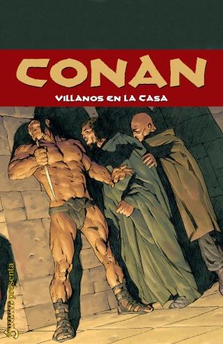 Portadas de las colecciones diversas de Conan Sword107