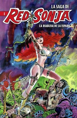 Portadas de las colecciones diversas de Conan Sword119