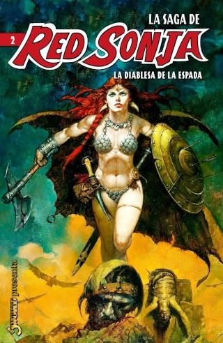 Portadas de las colecciones diversas de Conan Sword120