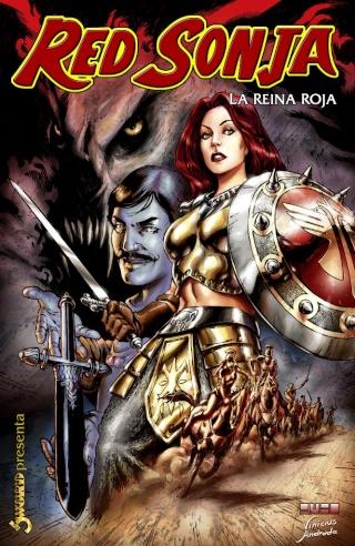Portadas de las colecciones diversas de Conan Sword122