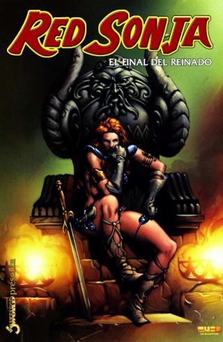 Portadas de las colecciones diversas de Conan Sword126