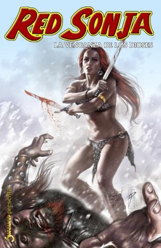 Portadas de las colecciones diversas de Conan Sword132