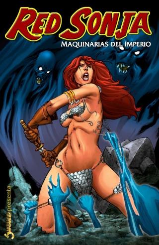 Portadas de las colecciones diversas de Conan Sword154