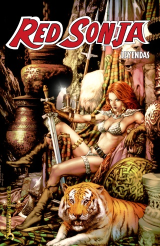 Portadas de las colecciones diversas de Conan Sword167