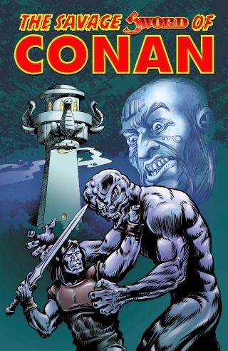 Portadas de las colecciones diversas de Conan Sword_28