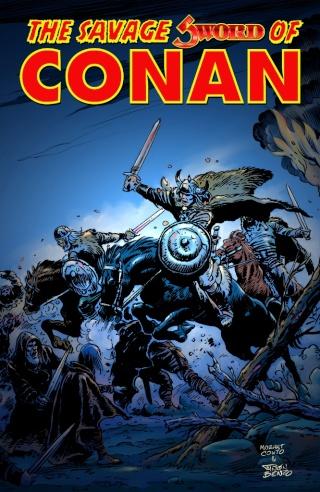 Portadas de las colecciones diversas de Conan Sword_29