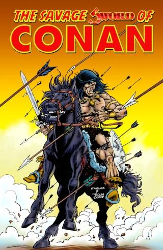 Portadas de las colecciones diversas de Conan Sword_30
