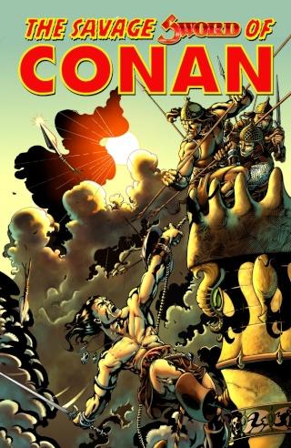 Portadas de las colecciones diversas de Conan Sword_31
