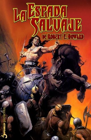 Portadas de las colecciones diversas de Conan Sword_38