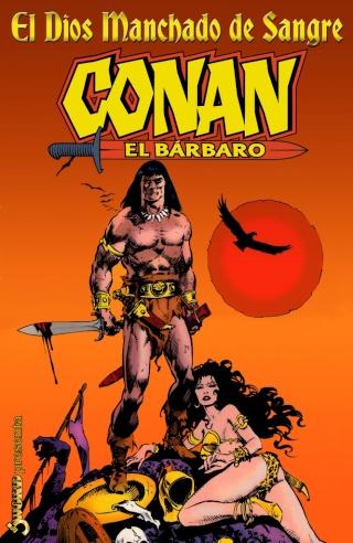 Portadas de las colecciones diversas de Conan Sword_56