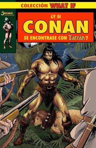 Portadas de las colecciones diversas de Conan Sword_58