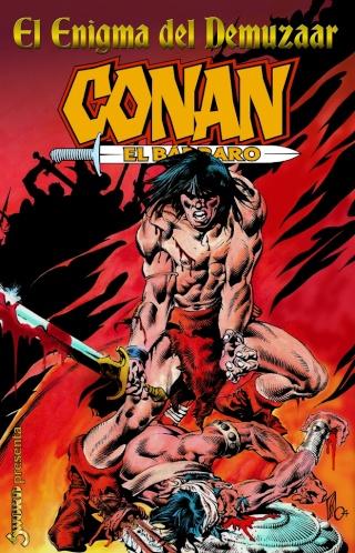 Portadas de las colecciones diversas de Conan Sword_59
