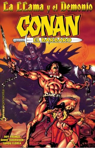 Portadas de las colecciones diversas de Conan Sword_60