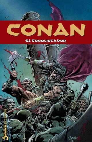 Portadas de las colecciones diversas de Conan Sword_64