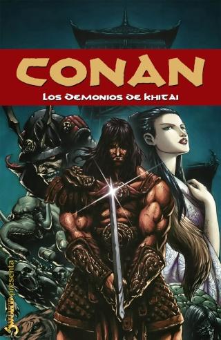 Portadas de las colecciones diversas de Conan Sword_66