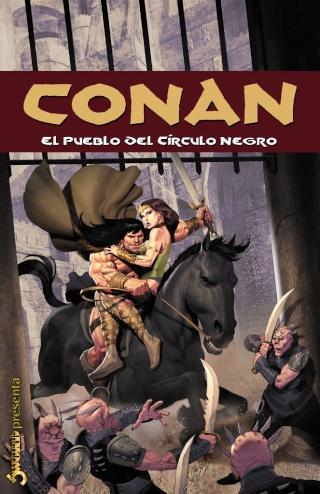 Portadas de las colecciones diversas de Conan Sword_81