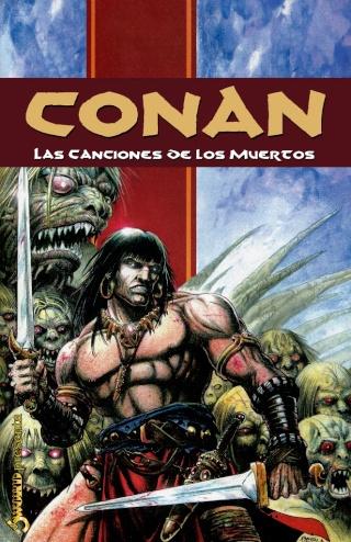 Portadas de las colecciones diversas de Conan Sword_82